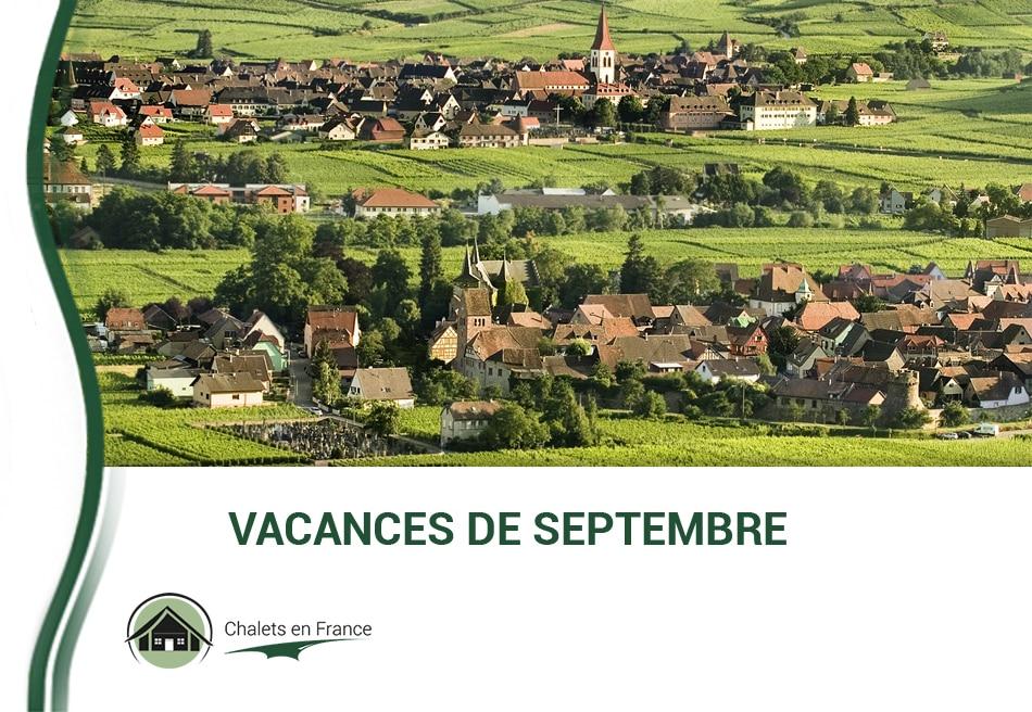 Promotions Location Vacances Septembre